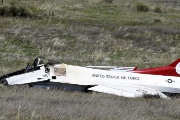 Истребитель пилотажной группы разбился в присутствии Обамы (видео)