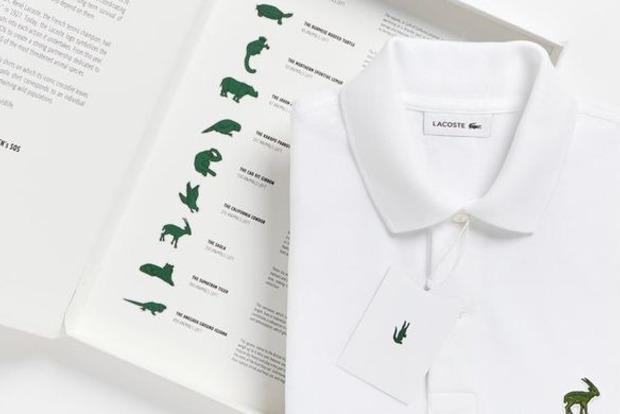 Lacoste замінить логотип крокодила на зникаючих тварин