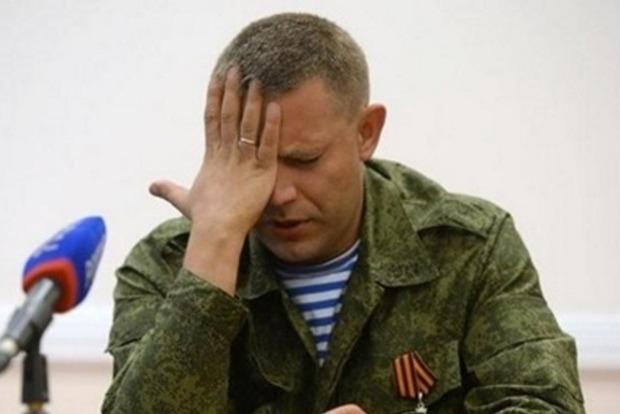 Главаря террористов ДНР Захарченко собираются заменить