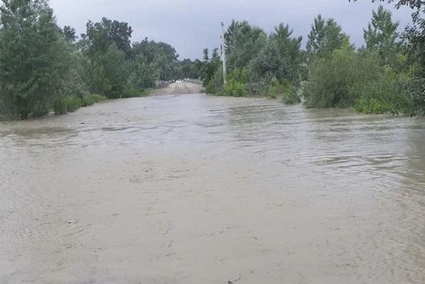 На Буковине наводнение
