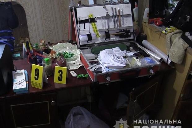 В Киеве убийца притворился мертвым и сбежал