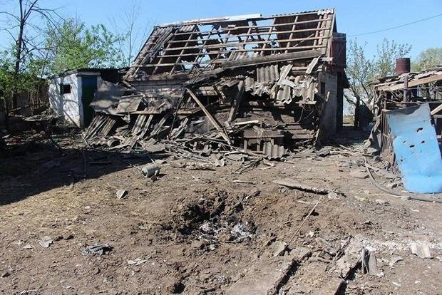 Террористы обстреляли Троицкое: погибло двое мирных жителей, в том числе и ребенок