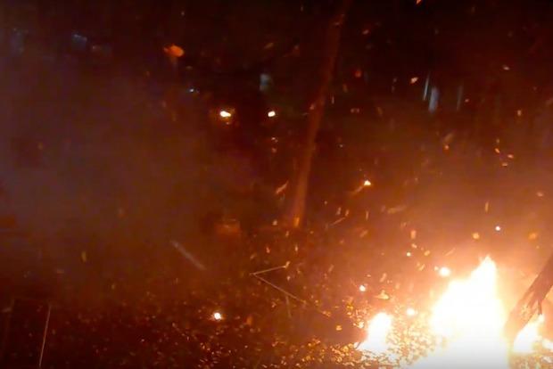 Опубліковано відео моменту замаху наМосійчука