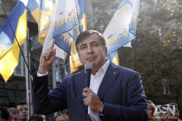 Саакашвілі отримав документ, який легалізував його перебування вУкраїні