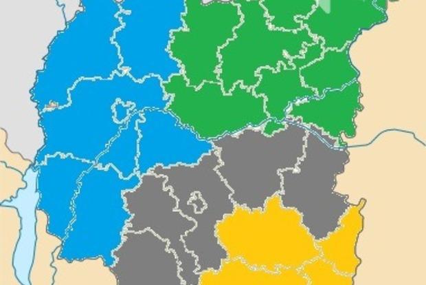 Чернігівську область перекроять. Буде 4 райони замість 22
