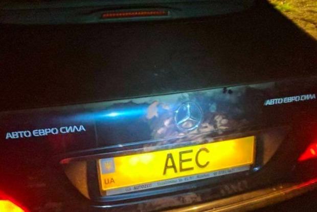 Под Киевом расстреляли машину руководителя организации Авто Евро Сила
