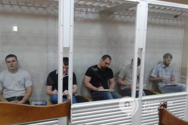Пятерым «экс-беркутовцам» суд продлил арест еще два месяца