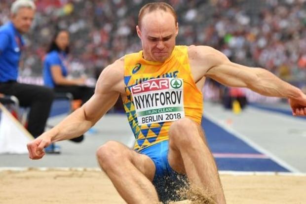 Украинец завоевал бронзу по прыжкам в длину