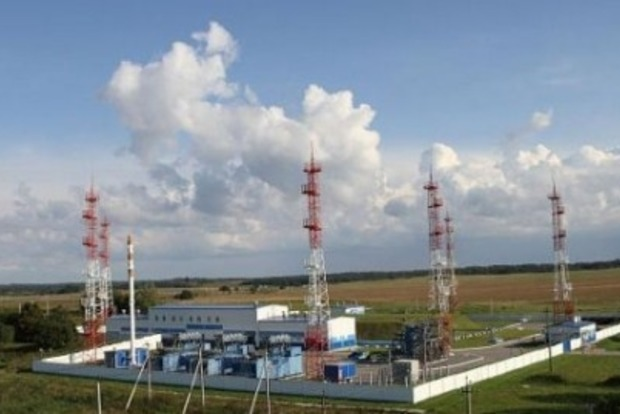 Украина начала наполнять газохранилища