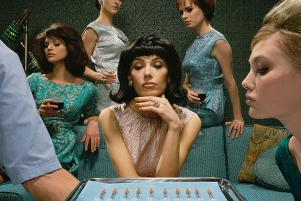 После ботокс-вечеринки женщина рот женщины увеличился в четыре раза