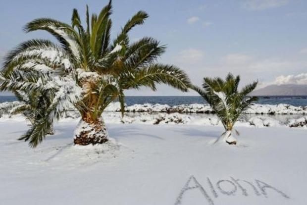Апокалипсис в раю. Гавайи засыпало метром снега