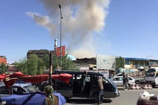 Возле посольства Германии в Кабуле прогремел взрыв, погибли 9 человек и около сотни ранены