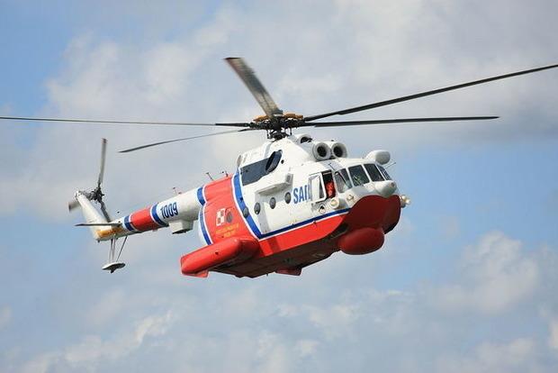 Крушение российского вертолета в Норвегии: На борту было восемь человек