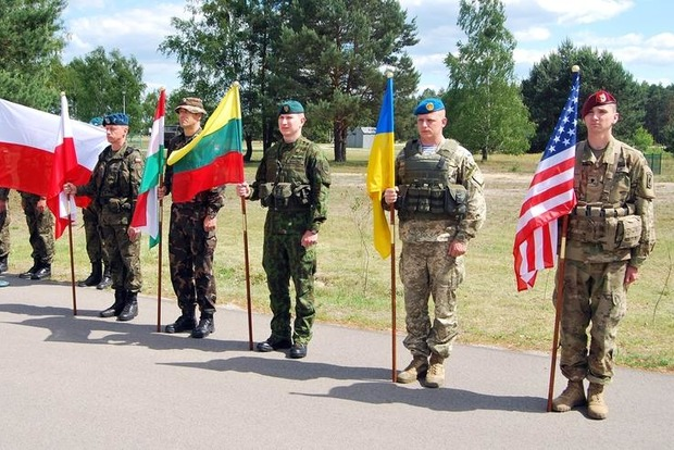 Стартовали учения литовско-польско-украинской бригады в рамках «Анаконды-2016»