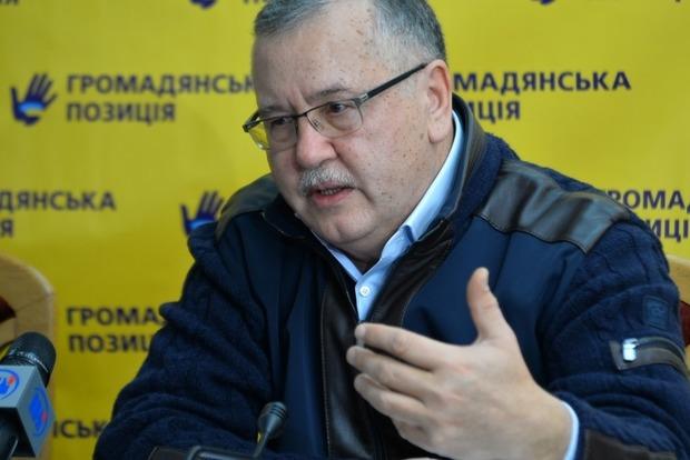 Гриценко вимагає розтягнути війну на Донбасі на довгі роки