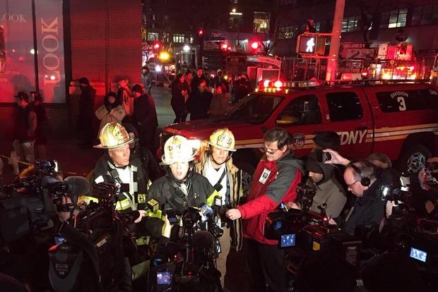 В Нью-Йорке горит 33-этажный небоскреб, более 20 пострадавших