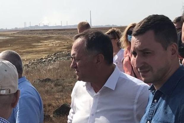 Земля біля адмінмежі з Кримом сильно отруєна сульфатами