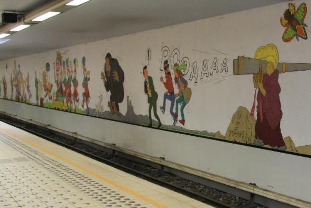 В Брюсселе из-за угрозы терактов закрыт вход на шесть станций метро