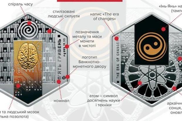 Чтобы не укатились: НБУ выпустил шестиугольные монеты