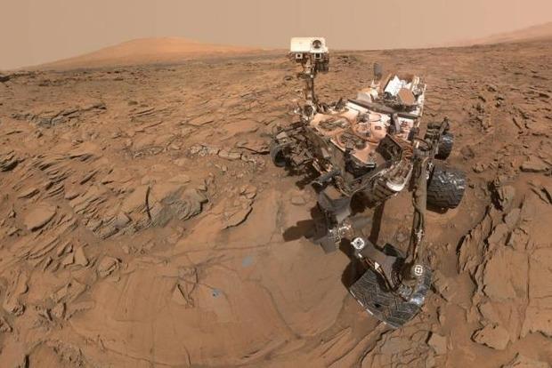 На Марсе обнаружено органическое вещество