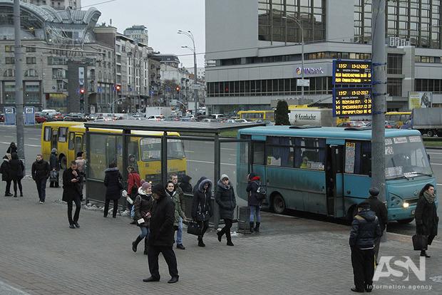 Міські перевізники планують підвищити ціни в маршрутках Києва
