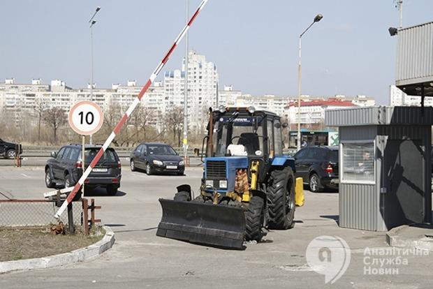 Киевские парковки: получить и удержать