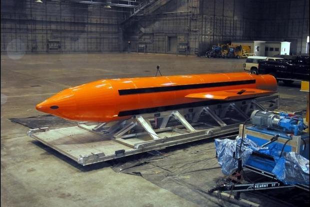 США показали видео испытаний сверхмощной неядерной бомбы