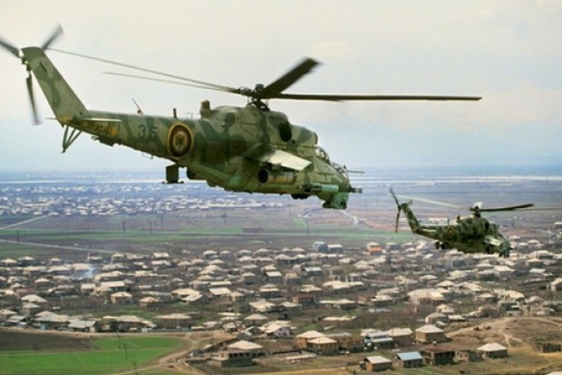 Армянские добровольцы отправились в зону конфликта с Азербайджаном