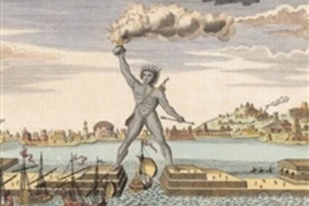 В Греции хотят восстановить статую Колосса Родосского