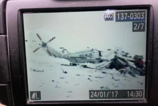 В Италии разбился вертолет со спасателями, шесть человек погибли
