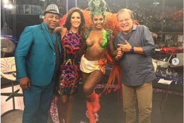 Конфуз на карнавале в Бразилии: с танцовщицы слетело белье