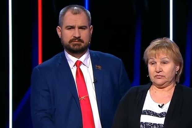 «Провокатор бандеровский!». Кандидаты в президенты РФ подрались в прямом эфире