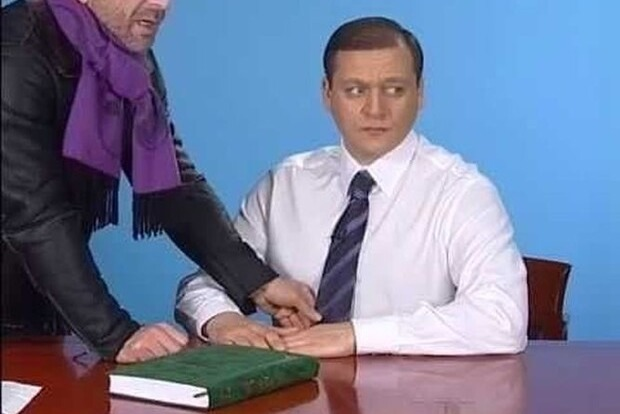 Добкин снова идет в мэры