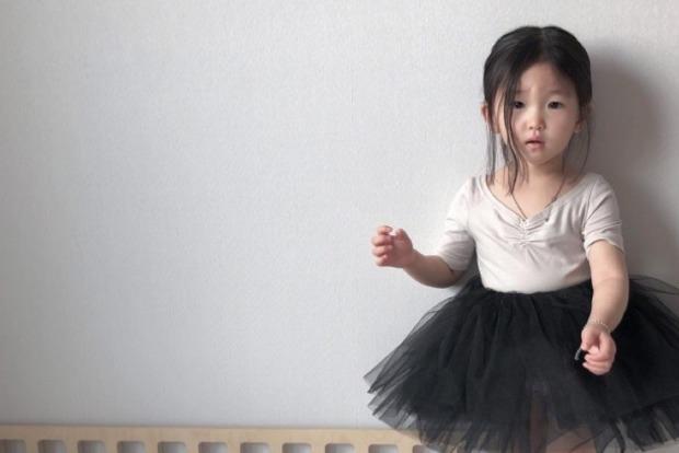 Четырехлетняя кореянка умилила интернет