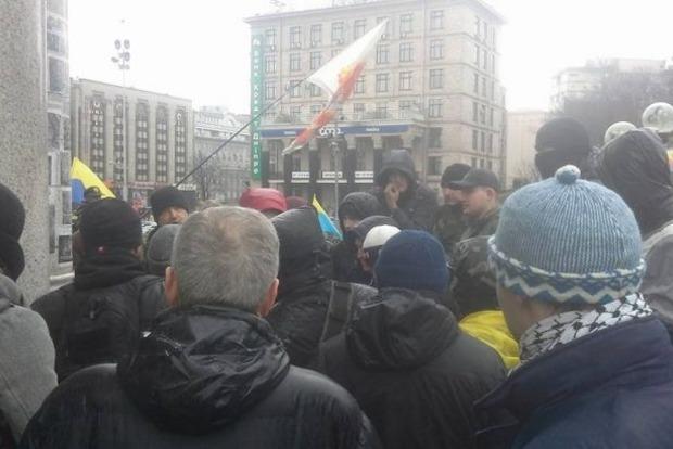Полиция арестовала четырех зачинщиков драки на Майдане