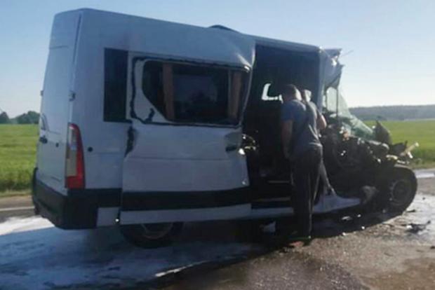 ДТП в Беларуси: Из-за травм украинские дети транспортировке не подлежат