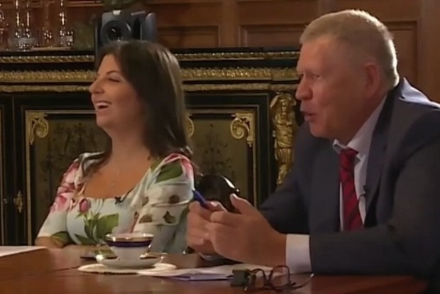 Симоньян косвенно подтвердила понимание присутствия России на Донбассе, предложив Лаврову ввести войска в открытую