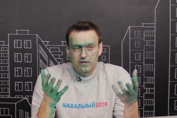 У Навального диагностирован ожог правого глаза
