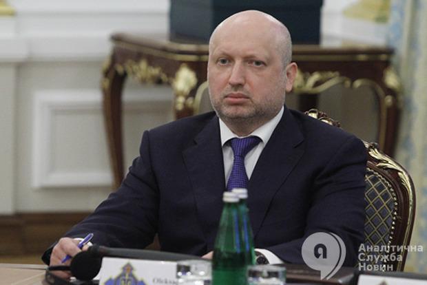У Турчинова продлят санкции против банков России