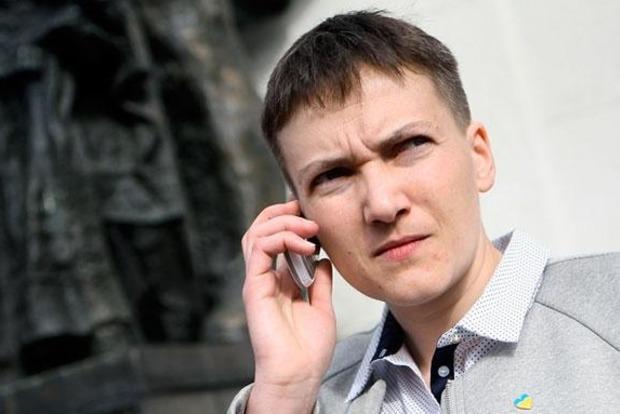 Савченко в Минске тайно встретилась с главарями боевиков