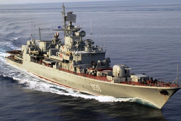 Штаб ВМС оправдался: поломка фрегата «Сагайдачный» произошла давно