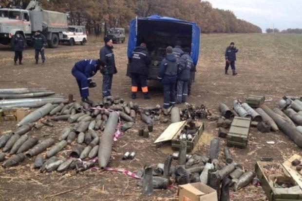 В Сватово сапер получил травму от взрыва мины