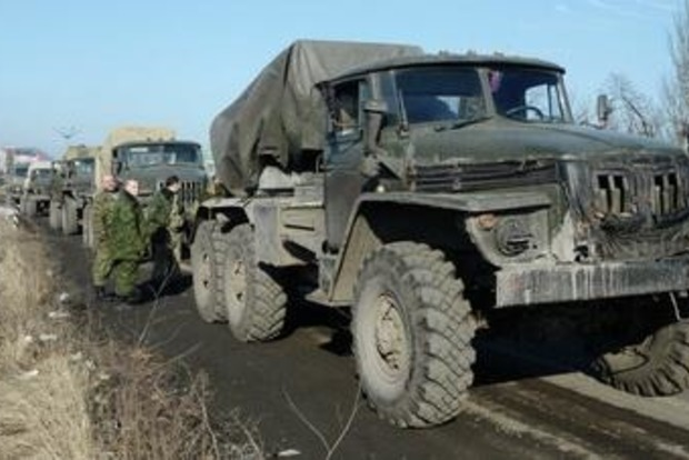 «ЛНР» готовится к наступлению: к фронту стягиваются «Грады» и гаубицы