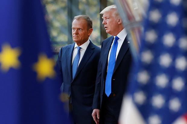 Менше захоплень. Туск розповів про ставлення Трампа до України