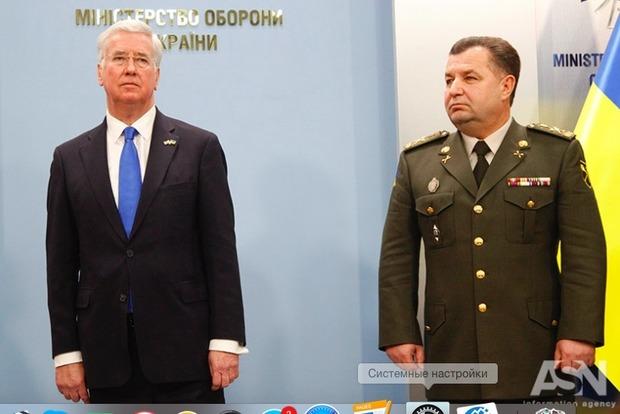 Полторак рассказал, насколько реален план по приведению ВСУ к стандартам НАТО
