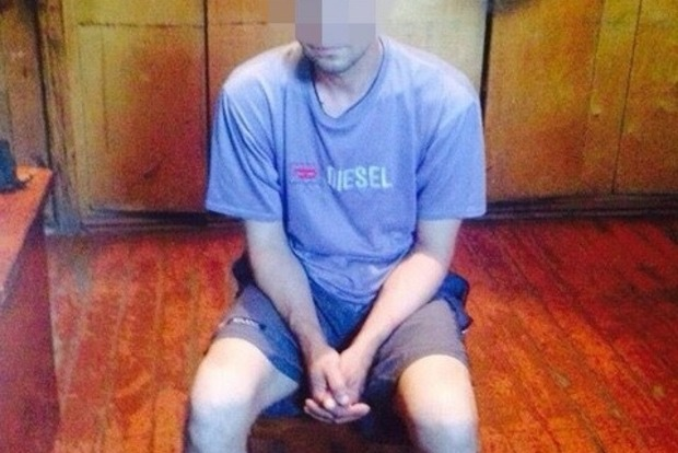 Около позиций сил АТО задержан информатор боевиков (фото)