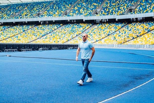 Звезда «Перевозчика» Джейсон Стэтхэм прилетел в Киев для съемок в рекламе