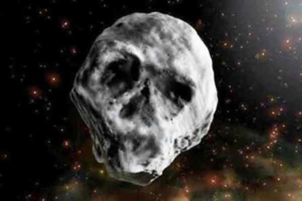 «Комета смерти». К Земле летит астероид в форме черепа