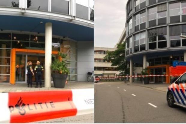 В Голландии мужчина захватил заложницу в здании радиостанции
