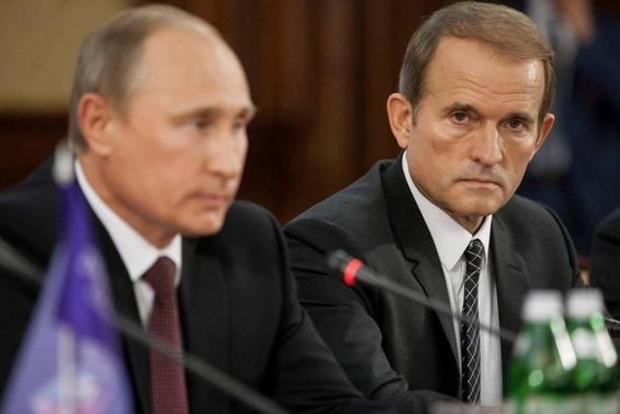 Путін пообіцяв Медведчуку поговорити з ватажками «ДНР» і «ЛНР» про обмін полоненими